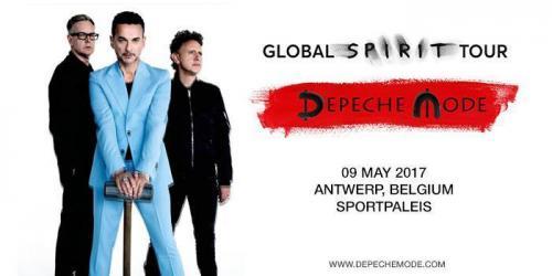 Capture d'écran pour 2017/05/09 - Anvers - Sportpaleis