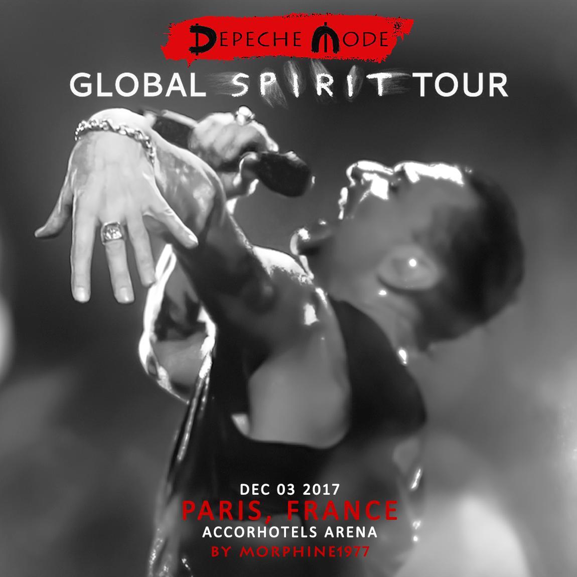 2017/12/03 - Paris - AccorHotels Arena - 1er jour - 2ème version