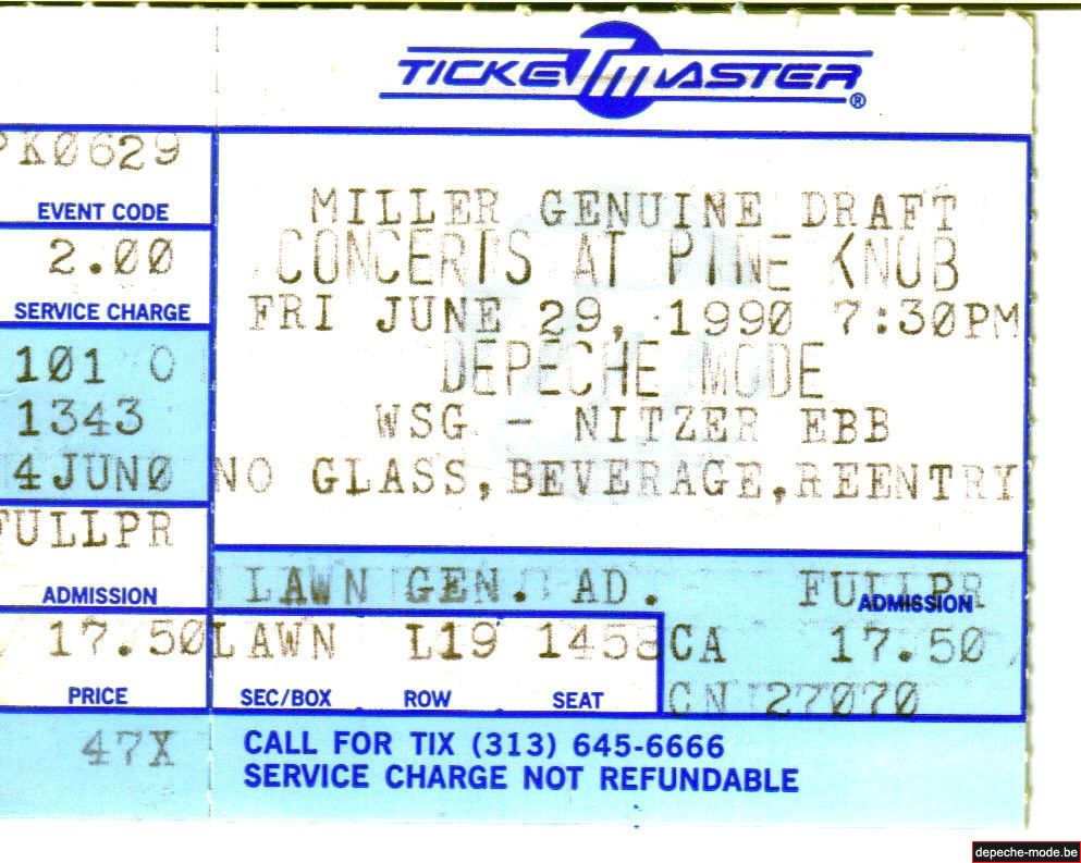 DM Détroit 1990