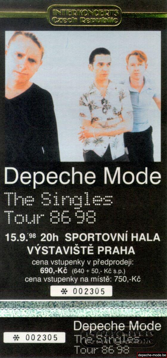 The Singles Tour 86 98