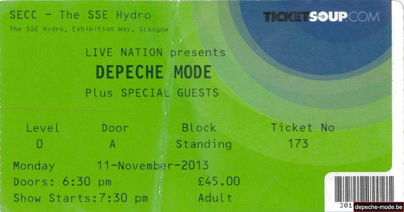Glasgow - 11/11/2013