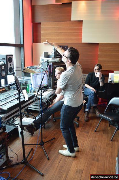 Dave en studio