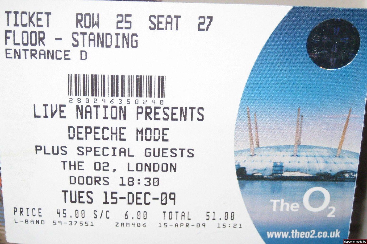 Londres - 15/12/2009