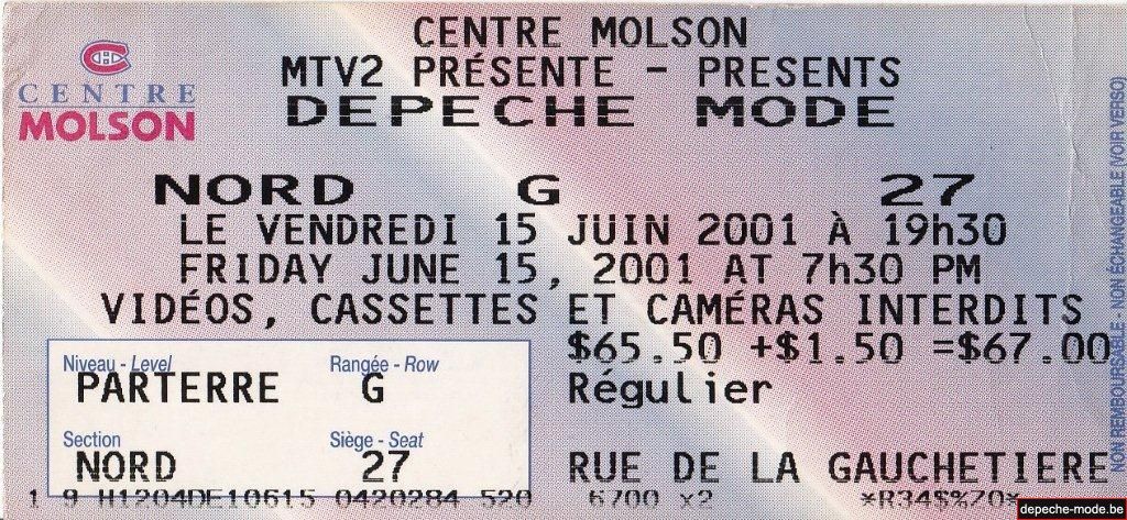 Montreal - 15/06/2001