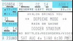 Los Angeles - 1990/08/04