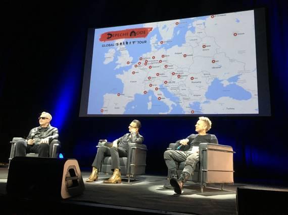 Conférence de presse - Global Spirit Tour