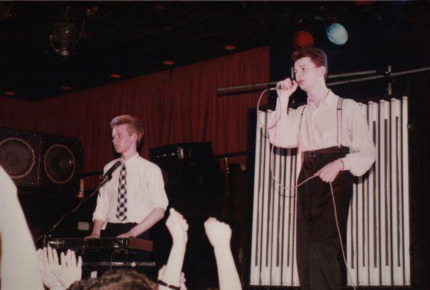 Fletch et Dave sur scène